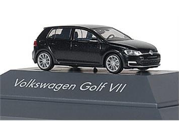 Rietze 11824 VW Golf 7 4türig tungsten silver metallic