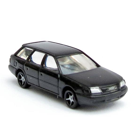 Rietze 16966 Audi A6 Avant schwarz N