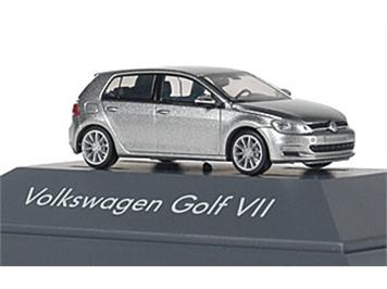 Rietze 21824 VW Golf 7 4türig tungsten silver metallic