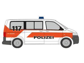Rietze 53405 VW T5 GP, Bus Stadtpolizei St. Gallen