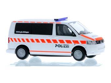 """Rietze 53461 VW T5 Bus """"Kantonspolizei Glarus"""" (CH), H0"""