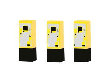 Rietze 70287 Parkscheinautomat, 3er Set HO