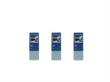 Rietze 70306 Fahrkartenautomat 3 Stück SBB Billettautomat (CH), H0