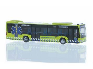 Rietze 73477 MB Citaro 15 Ambulance GRTW Basel CH, H0 1:87