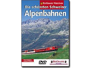 Riogrande DVD 7027 - Die schönsten Schweizer Alpenbahnen