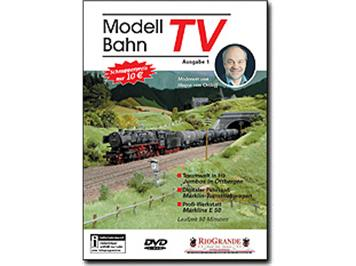 Riogrande DVD 7501 - Modellbahn TV - Ausgabe 1