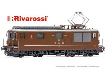Rivarossi HR2812S BLS E-Lok Re 4/4 161 Domodossola Ep.IV-V, DC, DCC mit Sound