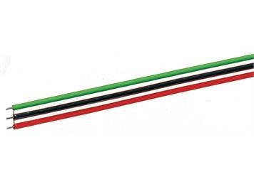 Roco 10623 3-poliges Flachbandkabel, 10m