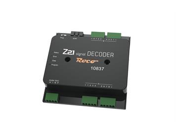 Roco 10837 Z21 signal DECODER - NEUHEIT 2021 -