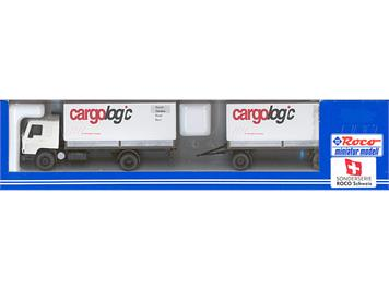 "Roco 2403CA Volvo-Anhängerzug ""cargologic"" HO - Sonderserie CH"