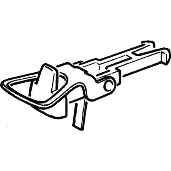 Roco 40243 Standart-Bügelkupplungsköpfe (2 Stk.), H0