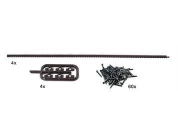 Roco 42602 Flexible Zahnstangen für ROCO LINE-Gleise, H0