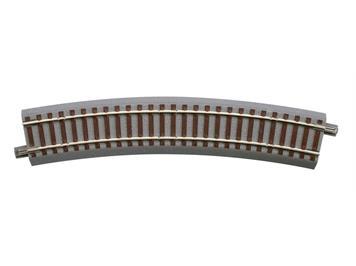 Roco 61128 GEOline Gleis gebogen (Gegenbogen) 22,5°, H0