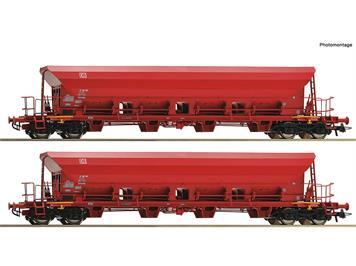 Roco 67087 2-tlg. Set: Selbstentladewagen, DB AG, H0