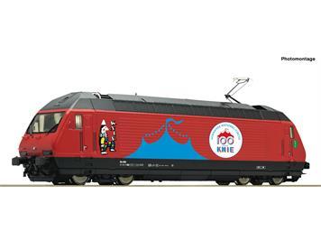 "Roco 70657 SBB E-Lok Re 460 058-1 ""Circus Knie"" - Gleichstrom digital mit Sound"