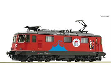 "Roco 71402 SBB E-Lok Re 420 294-1 ""Circus Knie"" - Gleichstrom digital mit Sound, H0 (1:87)"