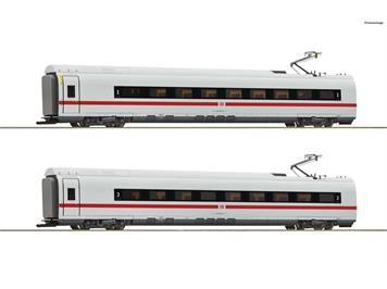 "Roco 72096 Ergänzungsset ICE 3 ""Velaro"" DB AG, 2teilig DC, H0 (1:87)"