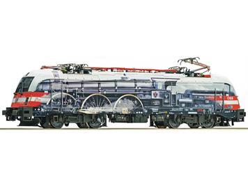 """Roco 72443 Elektrolokomotive Rh 1216 ÖBB """"175 Jahre Eisenbahn in Österreich"""""""