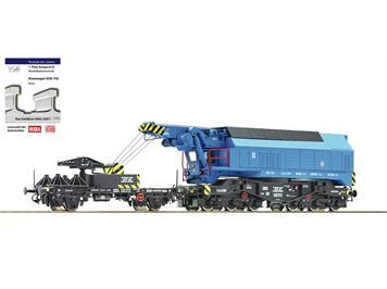 Roco 73038 Digital-Eisenbahndrehkran EDK 750 CSD, DCC digital mit Sound, H0 (1:87)