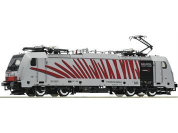 Roco 73313 E-Lok 186 282 der Railpool vermietet an die RTC, DCC mit Sound, H0