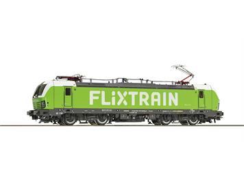Roco 73313 Elektrolokomotive 193 813 des Flixtrain in grüner Lackierung. DCC mit Sound