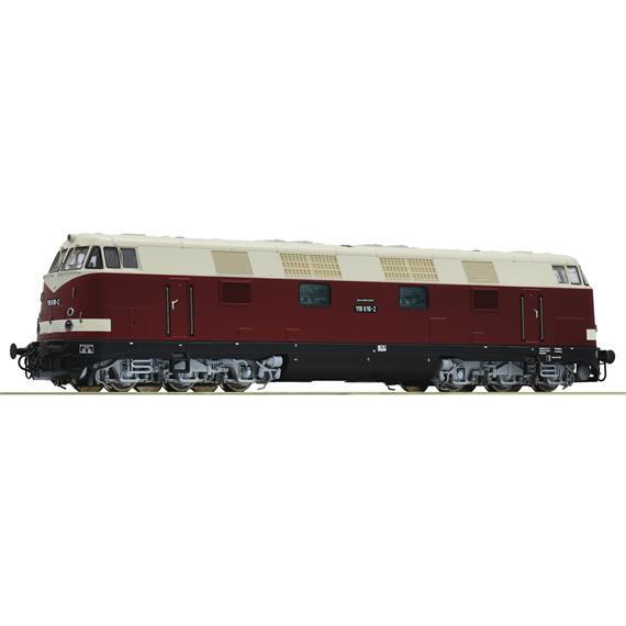 Roco 73895 Diesellokomotive Baureihe 118 der DR, DC digital mit Sound, H0