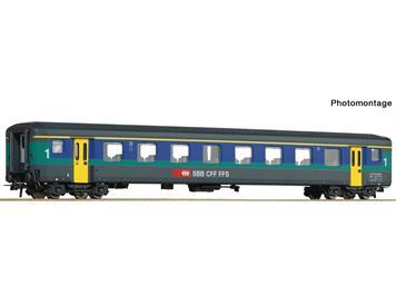 "Roco 74565 SBB Personenwagen EW II 1. Klasse ""Papagei"", H0"