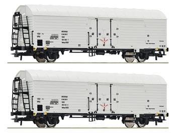 Roco 76035 2er Set Kühlwagen dgmns AAE DR, H0 (1:87)