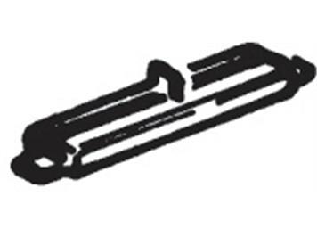 Roco H0-Isolierschienenverbinder 2,5 mm