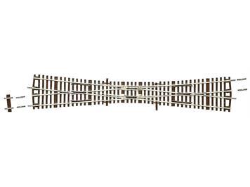 Roco Line 2,1 mm 42493 einfache Kreuzungsweiche EKW 10o