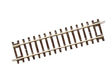 Roco Line 42411 Gerades Gleis DG1, Diagonalgerade, Länge 119 mm, H0