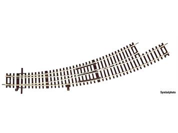 RocoLine 42472 Bogenweiche links BWl3/4 ohne Antrieb, H0