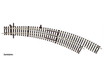 RocoLine 42473 Bogenweiche rechts BWr3/4 ohne Antrieb, H0