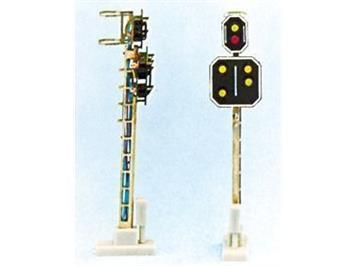 Schneider 2212 Hauptsignal mit Vorsignal RhB