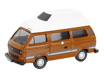 Schuco 452614200 VW T3 Camper Westfalia Joker braun HO
