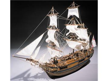 SERGAL 800785 Bounty HMS, 1:60 Baukasten
