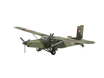 Swiss Line Collection 001603 V-631 Pilatus PC-6 Turbo Porter Swiss Air Force inkl. Ständer