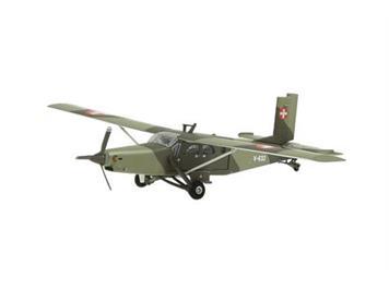 Swiss Line Collection 001604 V-632 Pilatus PC-6 Turbo Porter Swiss Air Force inkl. Ständer
