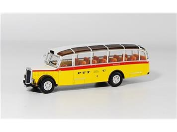 Swiss Line Collection 002007 Saurer 4LC Alpenwagen PTT HO