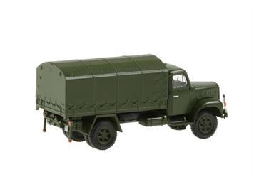 Swiss Line Collection 005150 Saurer 2DM Militärlastwagen Plane geschlossen