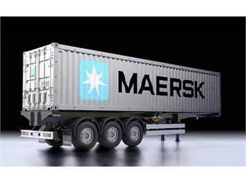 Tamiya 56326 40-Foot Container Auflieger Semi-Trailer Maersk 1:14