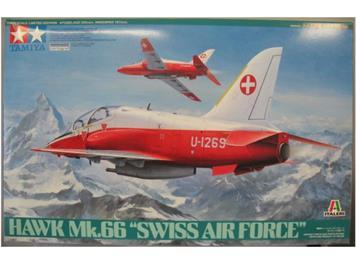Tamiya Hawk Mk.66 Swiss Air Force