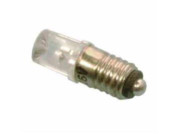 Tams 81-40321-02-H LED Zylinder 5mm warmweiss mit Gewindesockel E5,5 für 16 - 22V (2)