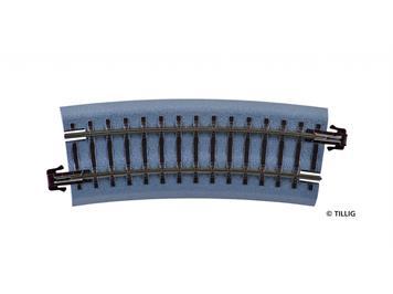 Tillig 83720 BR 12 gebogenes Gleis R310 mm / 15 °