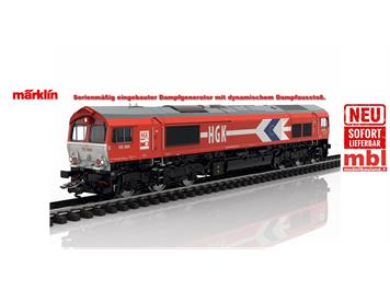 TRIX 222691 Diesellok Class 66 der Güterverkehr Köln AG (HGK), mfx+/DCC mit Sound, H0