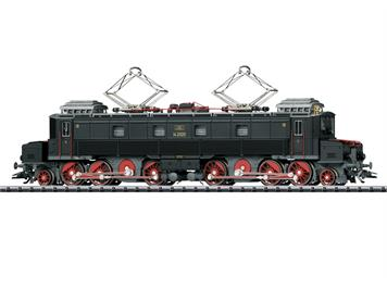 "TRIX 22869 SBB Ce 6/8 I ""Köfferli"" mit fiktiver schwarze Grundfarbgebung, DC DCC mit Sound"