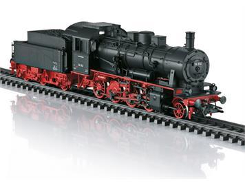 TRIX 22903 Güterzug-Dampflokomotive der Baureihe 56.2-8 der DB, DC, DCC mfx mit Sound, H0