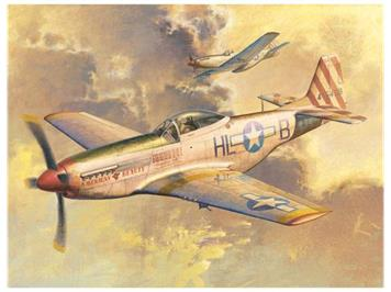 Trumpeter 02275 North American P-51D Mustang Swiss Air Force 1:32