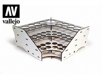 Vallejo 26008 Eck-Modul für Farben und Pinsel