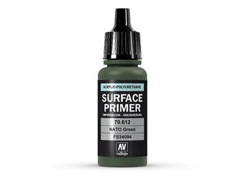 Vallejo 70.612 Model Air 17ml, SURFACE PRIMER NATO GREEN